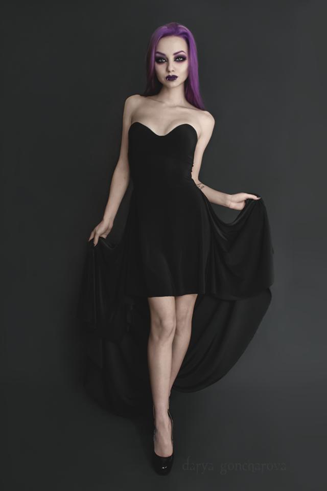 Model/MUA/Dress: Darya Goncharova Welcome to Gothic and Amazing |www.gothicandamazing.org