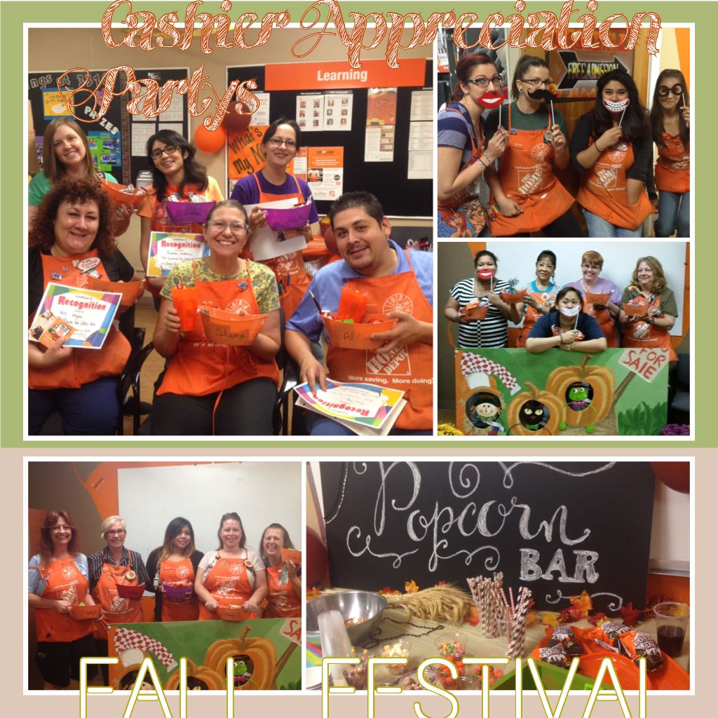 Cashier Appreciation Parties Store3316 Appreciation Home Depot