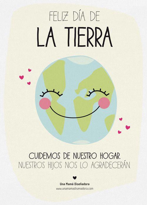 Feliz Día De La Tierra Día De La Tierra La Tierra Dibujo