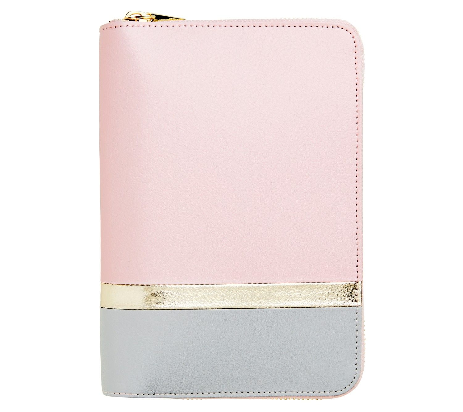 leather personal zip planner medium love life