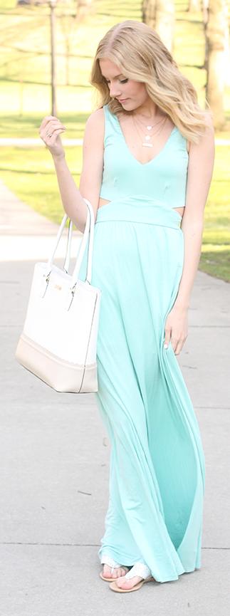 Mint Maxi Inspiration Dress