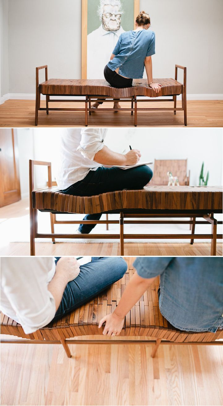 Charmant Sitskie Design Studio Has Developed A Series Of Responsive, Wooden Furniture  That Shifts To The Shape Of Your Body For Extreme Comfort.