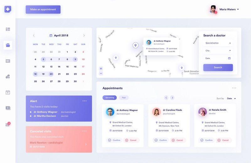 Dashboards Inspiration 2018 \u2013 Muzli - Design Inspiration Dashboard