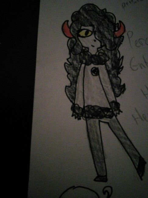 Fantroll! Purple-ish Magenta, i forgot the fins, Lusus: Hero Mom. Symbol: Perseus. Name: Percei Entrep. Pesterchum Handle: HeroicGorgonslayer Quirk: Says Hero alot, uses slashes, Ex: //HAH well thats awkward. \SORRY/! OH my are you ok?? Do you need a hero? :// o/ok