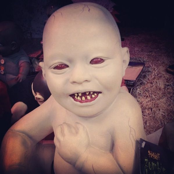 Evil Doll For A Demon Baby Girl Lol