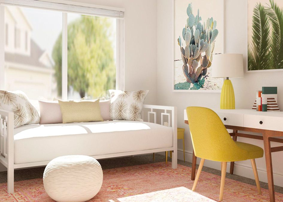 Best Simple Office Meets Guest Room Decorating Ideas Small 640 x 480