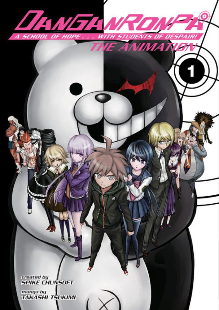 JAPAN Danganronpa Trigger Happy Havoc The Animation Book