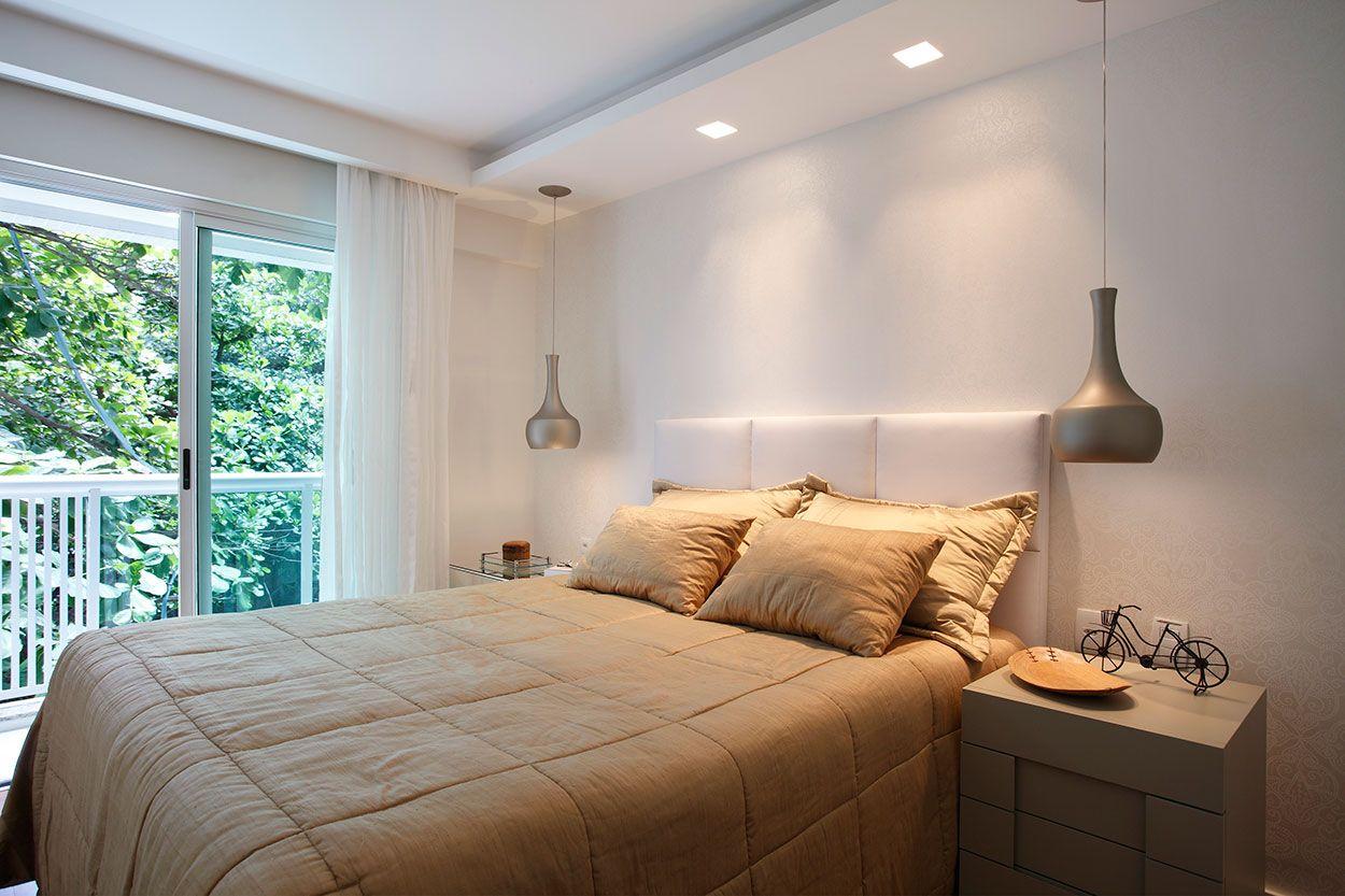 Sanca De Gesso 80 Modelos Tipos Fotos E Projetos Bedrooms  ~ Sanca De Gesso Para Quarto De Casal