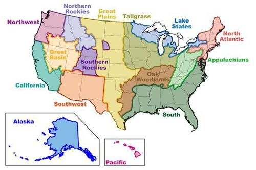 Image result for the great basin | CSET: Subtest II- American ...