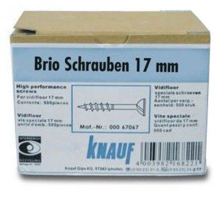 Knauf Brio Schrauben 17 mm für Trockenestrich 18 mm