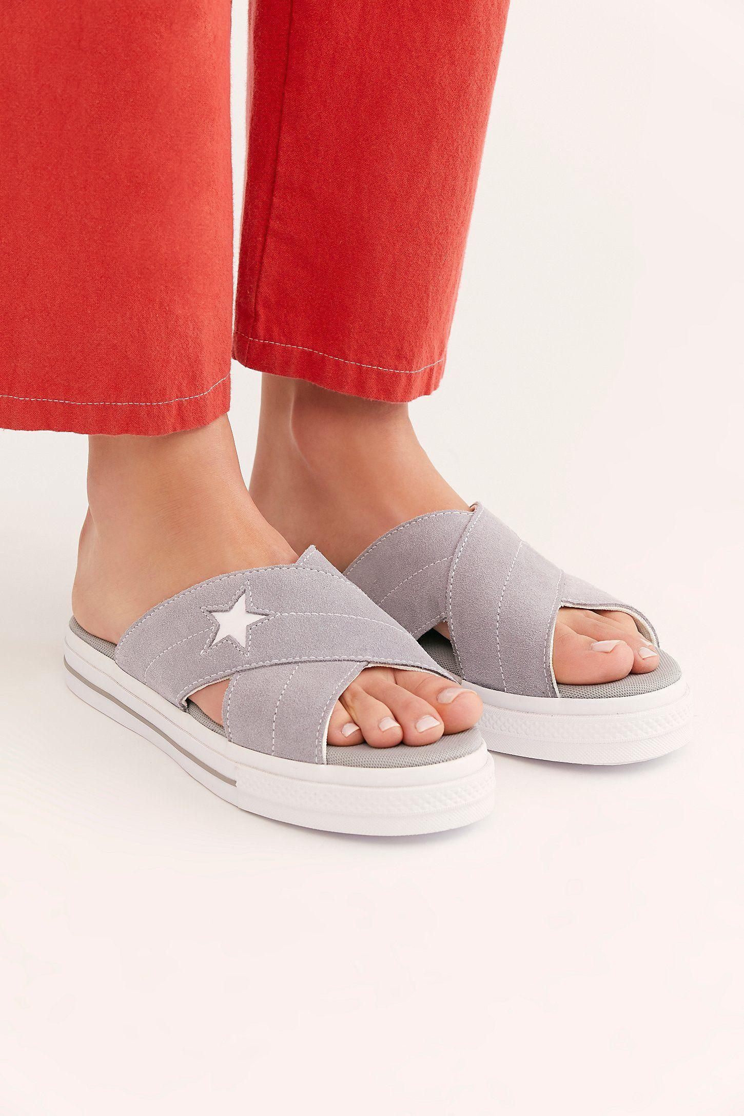 One Star Slip-On Sandals | Slip on