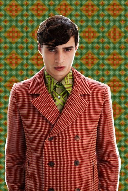 Adrien Sahores | Jonathan Saunders FW12 Menswear
