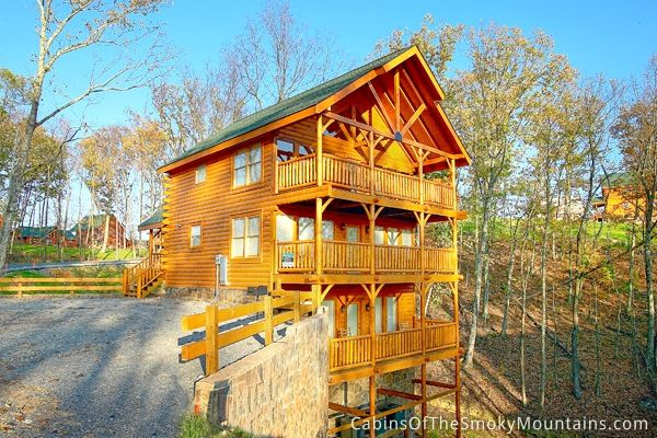 Wildest Dreams Cabin A Very Spacious 2 Bedroom Cabin With Lots Of Windows And Light From The Vaulted Architecture Cabin Tennessee Cabins Rustic Cabin Decor
