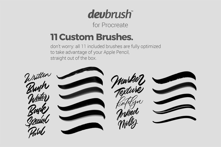 351+ Free Procreate Brushes (FRESH NEW