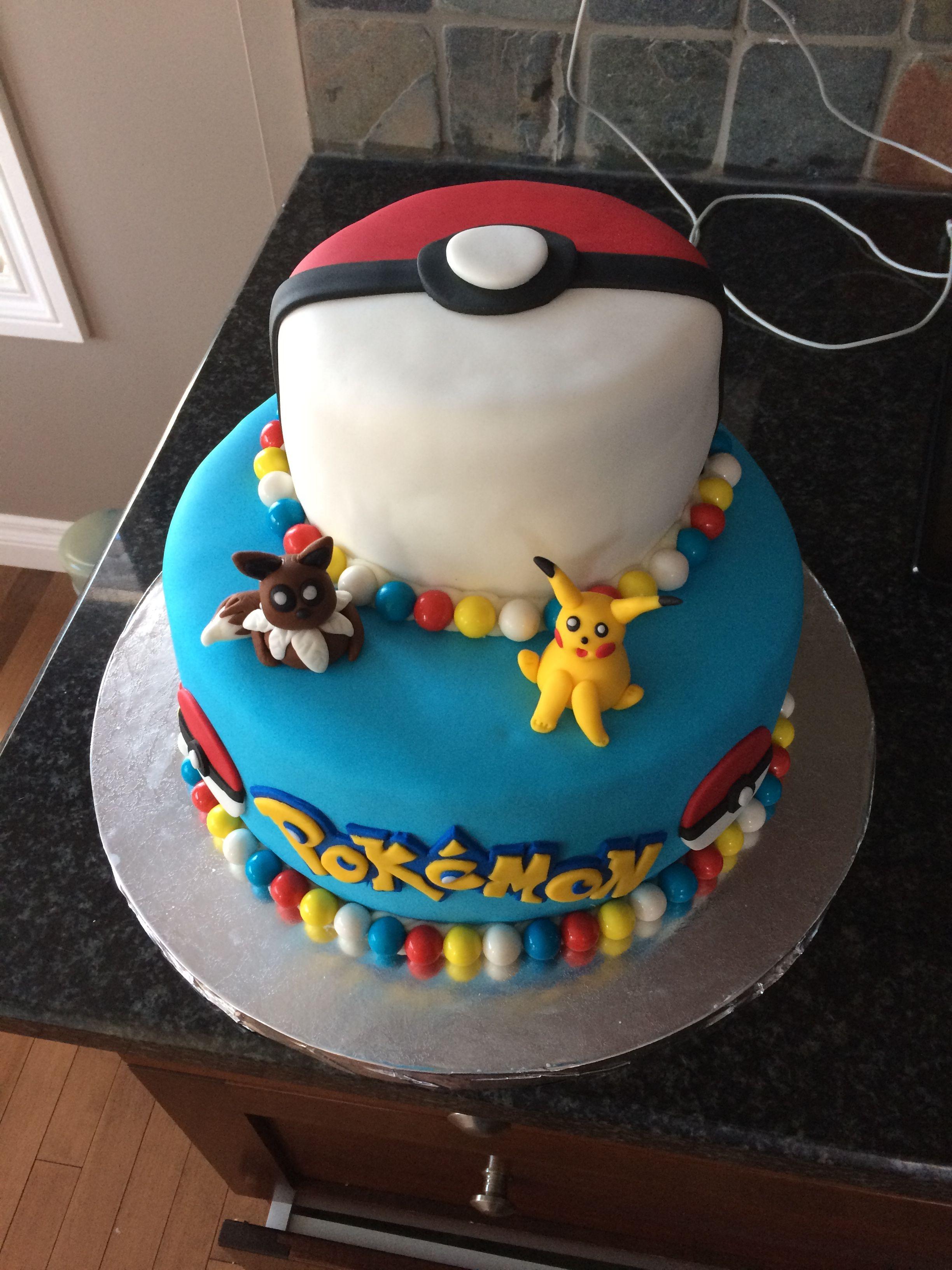 Pokemon Birthday Cake Birthdays Pinterest Pokemon Birthday
