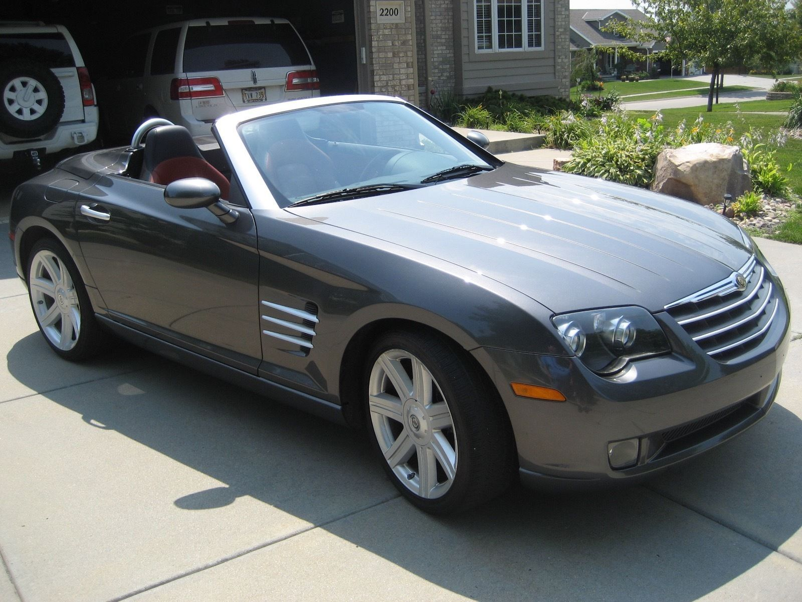 2005 Chrysler Crossfire Limited Convertible With Images