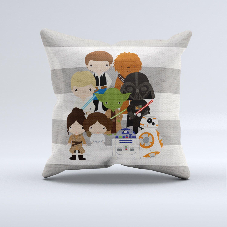 The force awakens throw pillow, star wars throw, stripes throw ...