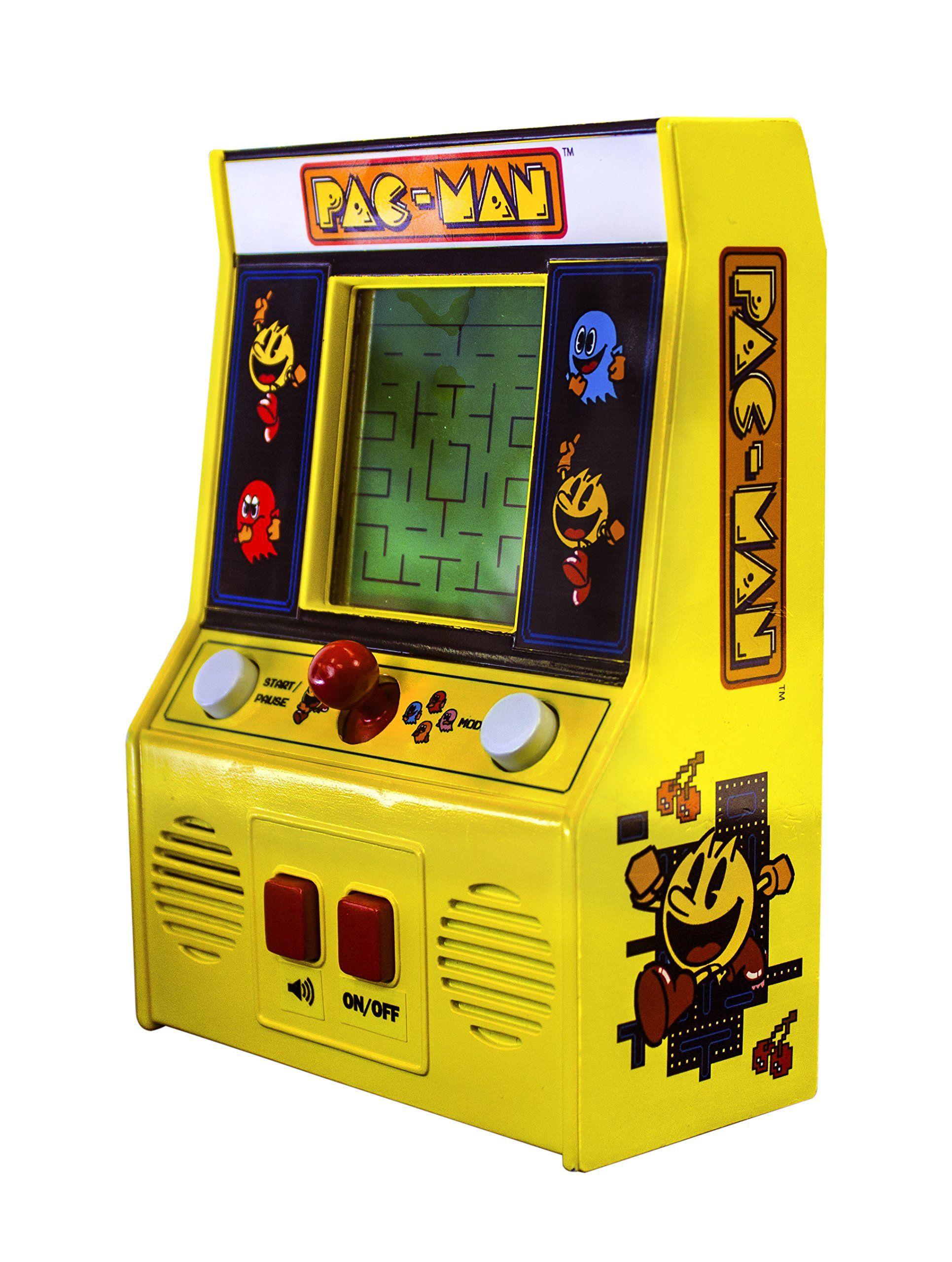 Basic Fun Arcade Classics PacMan Retro Mini Arcade Game