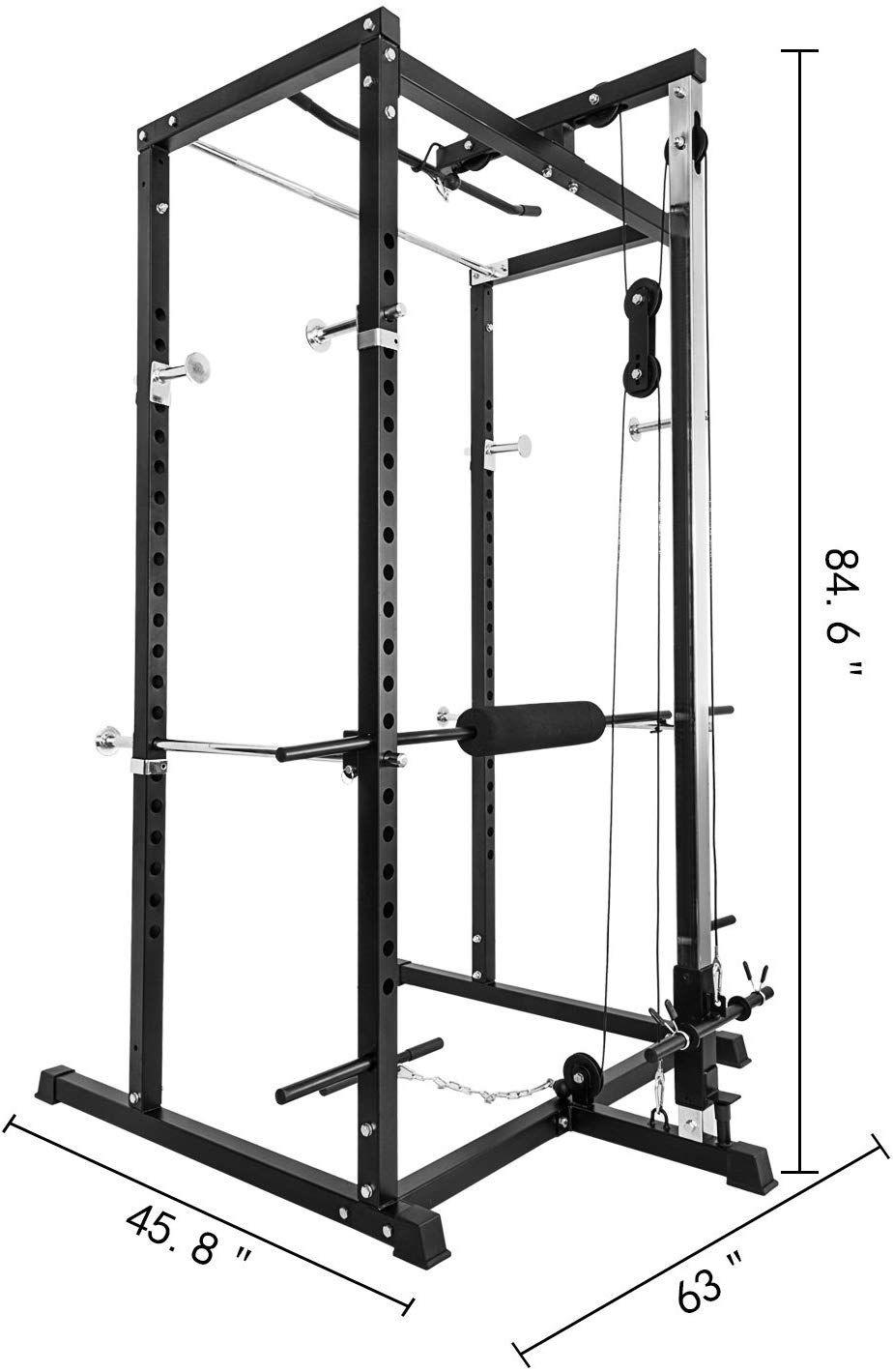 amazon com vevor rack cage system 85