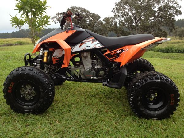day 6 2008 ktm 450xc quad atv excellent condition low hours never raced barely ridden. Black Bedroom Furniture Sets. Home Design Ideas
