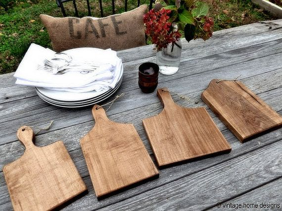 Just got mine from Our Vintage Home Love! These are the coolest cutting boards ever.