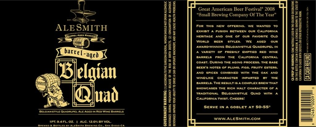 belgian quad ale : Ultimately, it was a realization that we needed to broaden our terminology. - debbiebissett.com