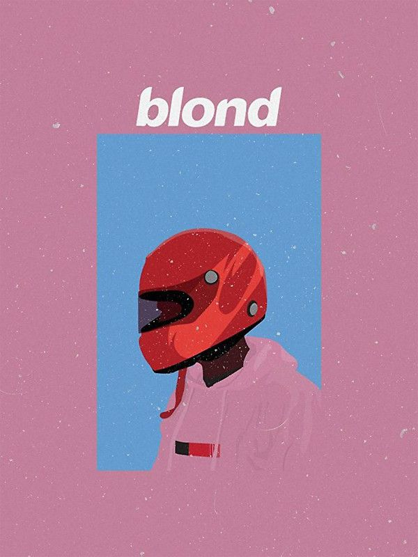 Frank Ocean Blonde Design By Curlcurlyc Posters In 2019