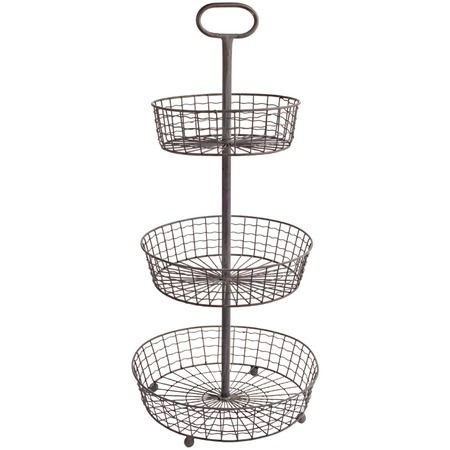 3 Tier Wire Basket....perfect for organizing a craft or office space.