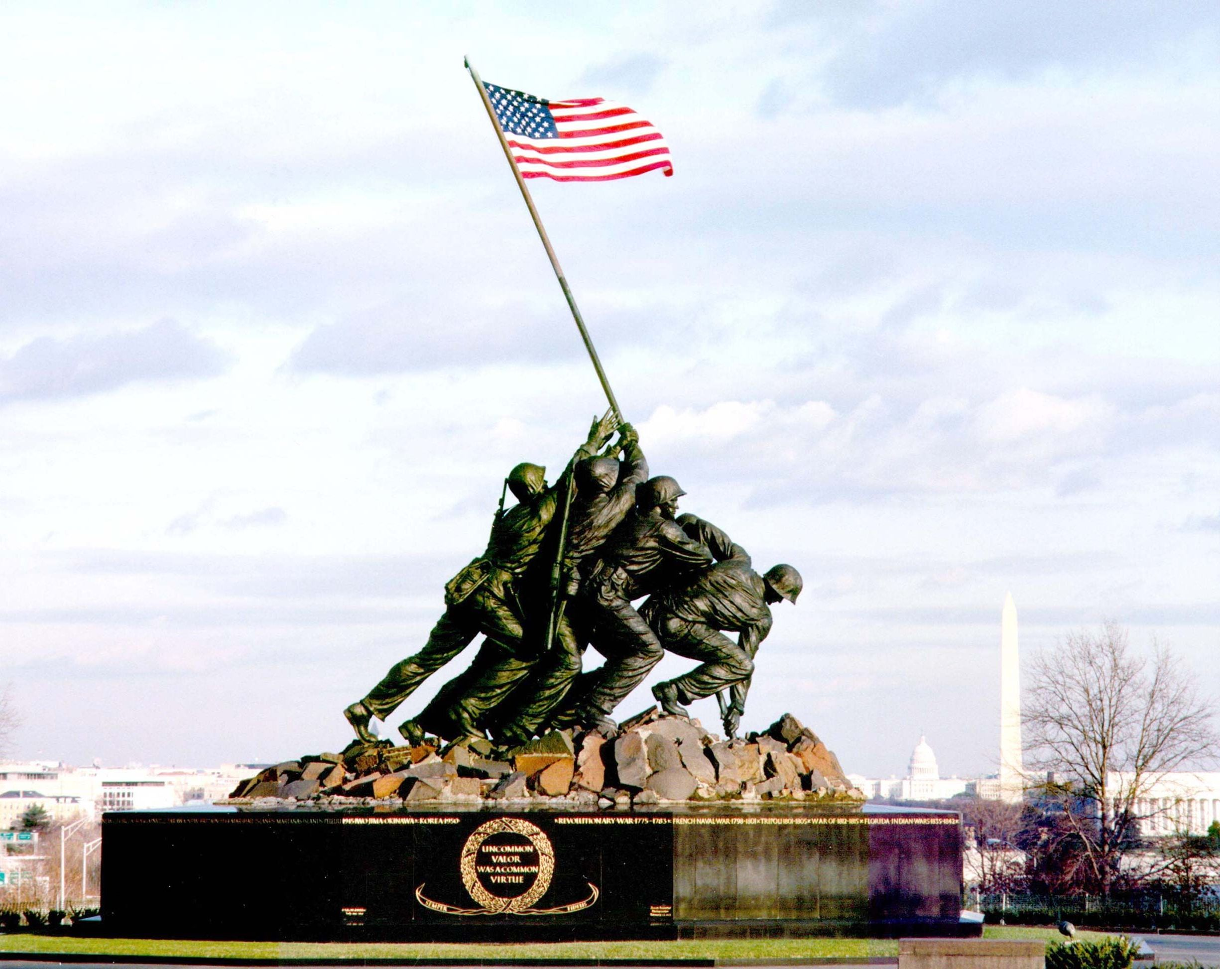 Image result for flag raising at iwo jima