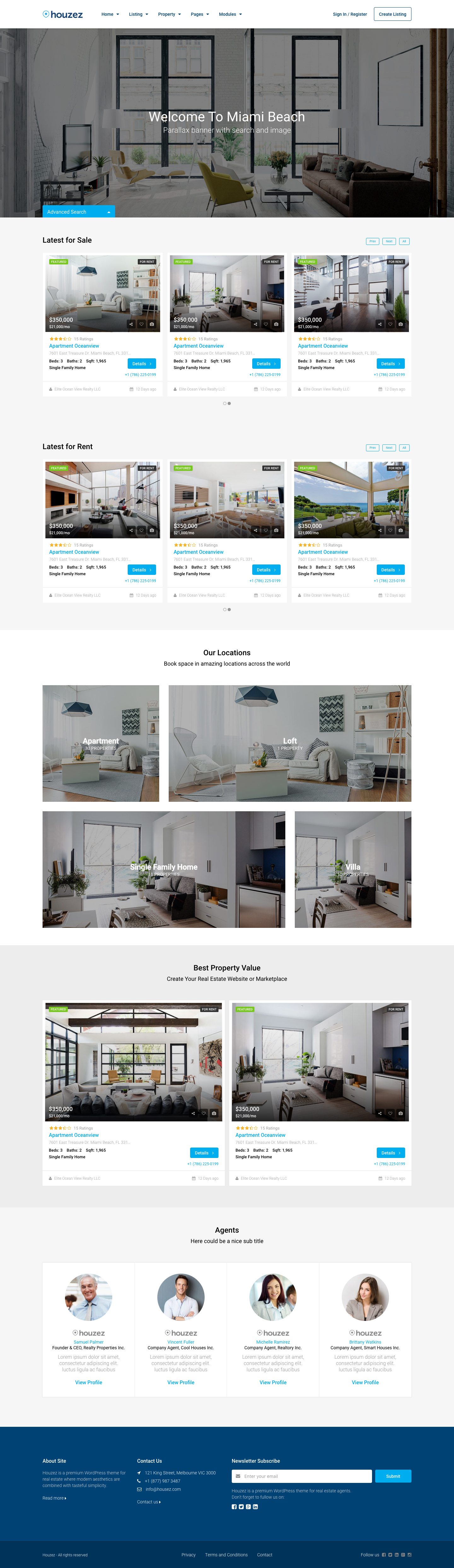 Houzez - Real Estate HTML Template by favethemes | ThemeForest ...