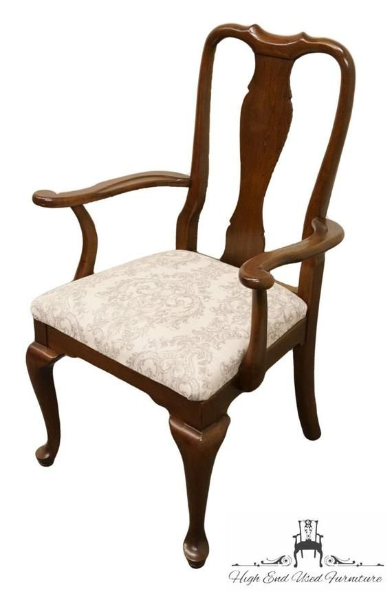 Ethan Allen Georgian Court Solid Cherry Queen Anne Style