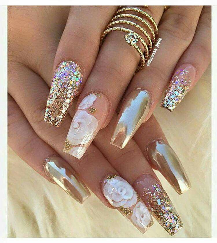 Pin de Sunny NU en uñas | Pinterest | Diseños de uñas, Manicuras y ...