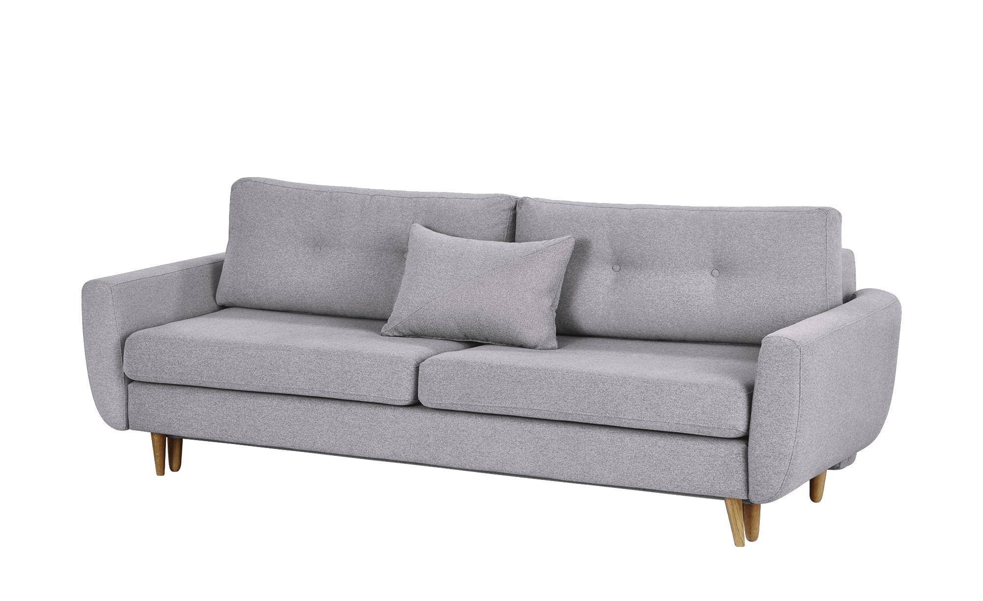 Finya Schlafsofa 3 Sitzig Lila Webstoff Harris Sofa
