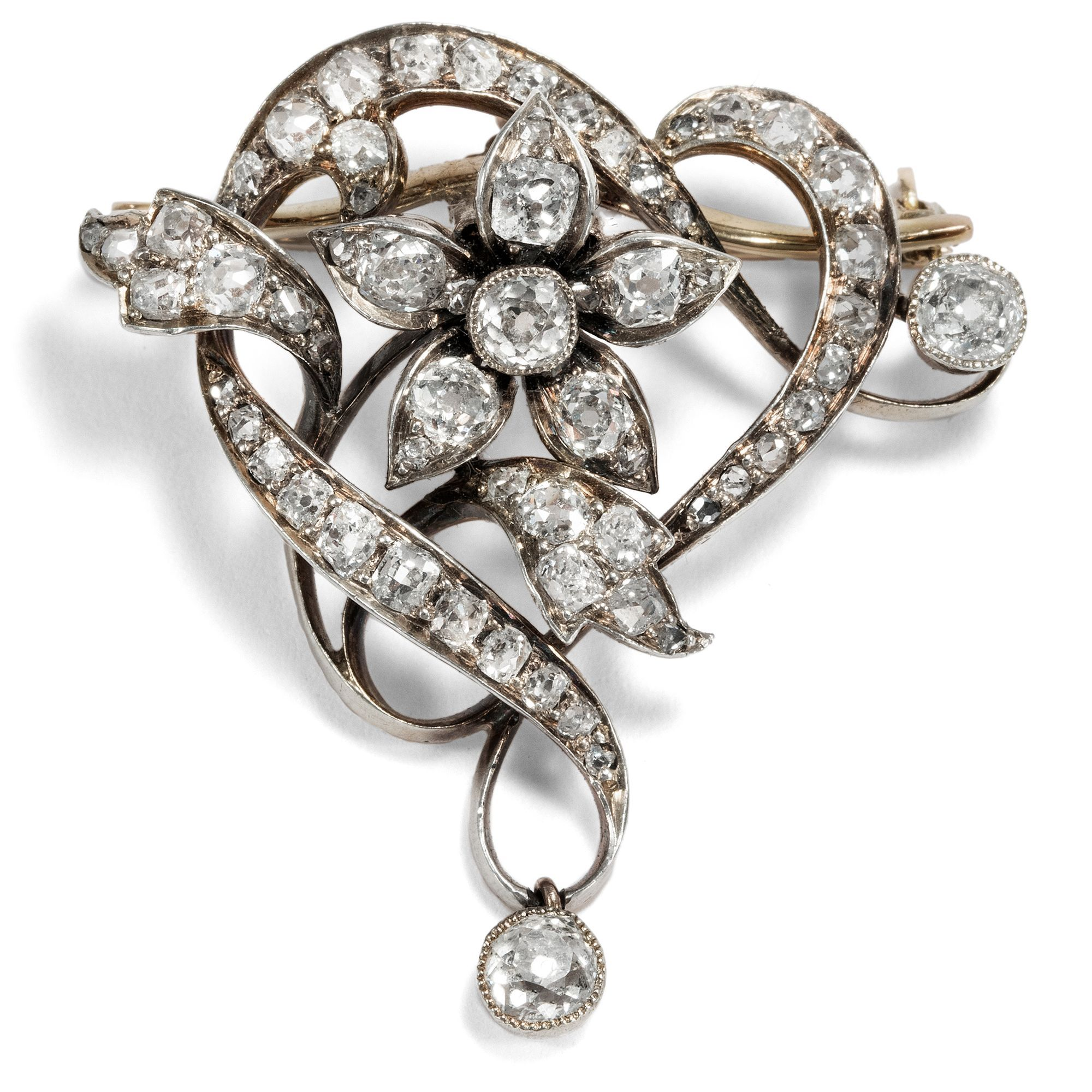 Pin Auf Antique Diamond Jewellery Ca 1900