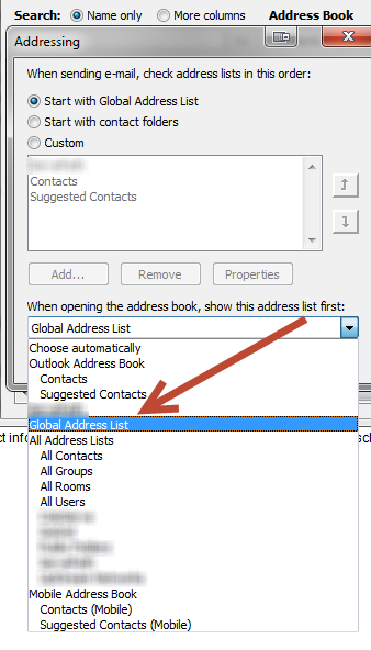 How To Set The Default Address Book In Microsoft Outlook 2010 Hightechdad Powerpoint Tips Microsoft Outlook Address Books