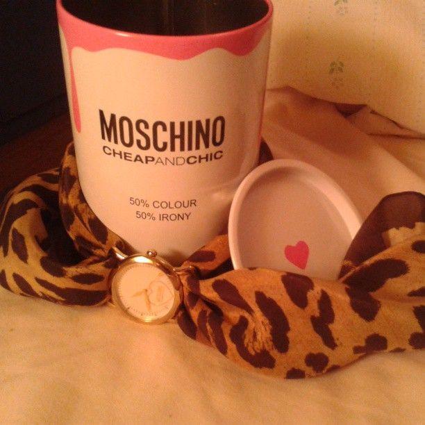Photo by annabonito #moschino #cheapandchic #watch #mymoschino