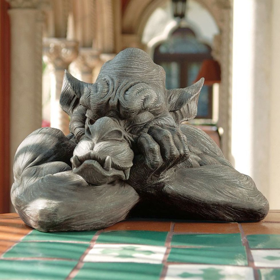Design Toscano Goliath The Gargoyle Statue & Reviews | Wayfair
