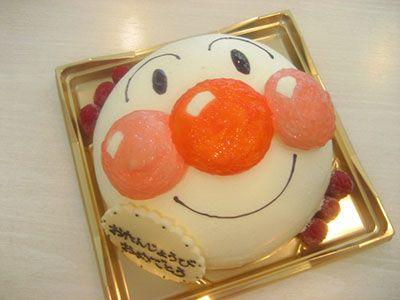 アンパンマン 3D・立体ケーキ #cake #birthday #誕生日ケーキ #バースデーケーキ