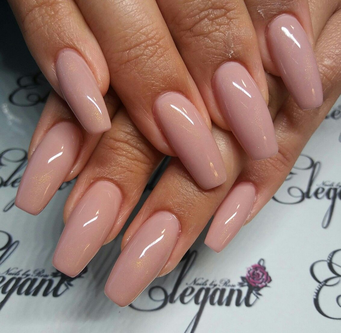 Nude Cashmere Beige Nails | Elegant Nails by Rose | Pinterest ...