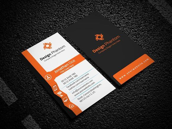 Creative business card template cartes de visita visita e carto creative business card template reheart Images