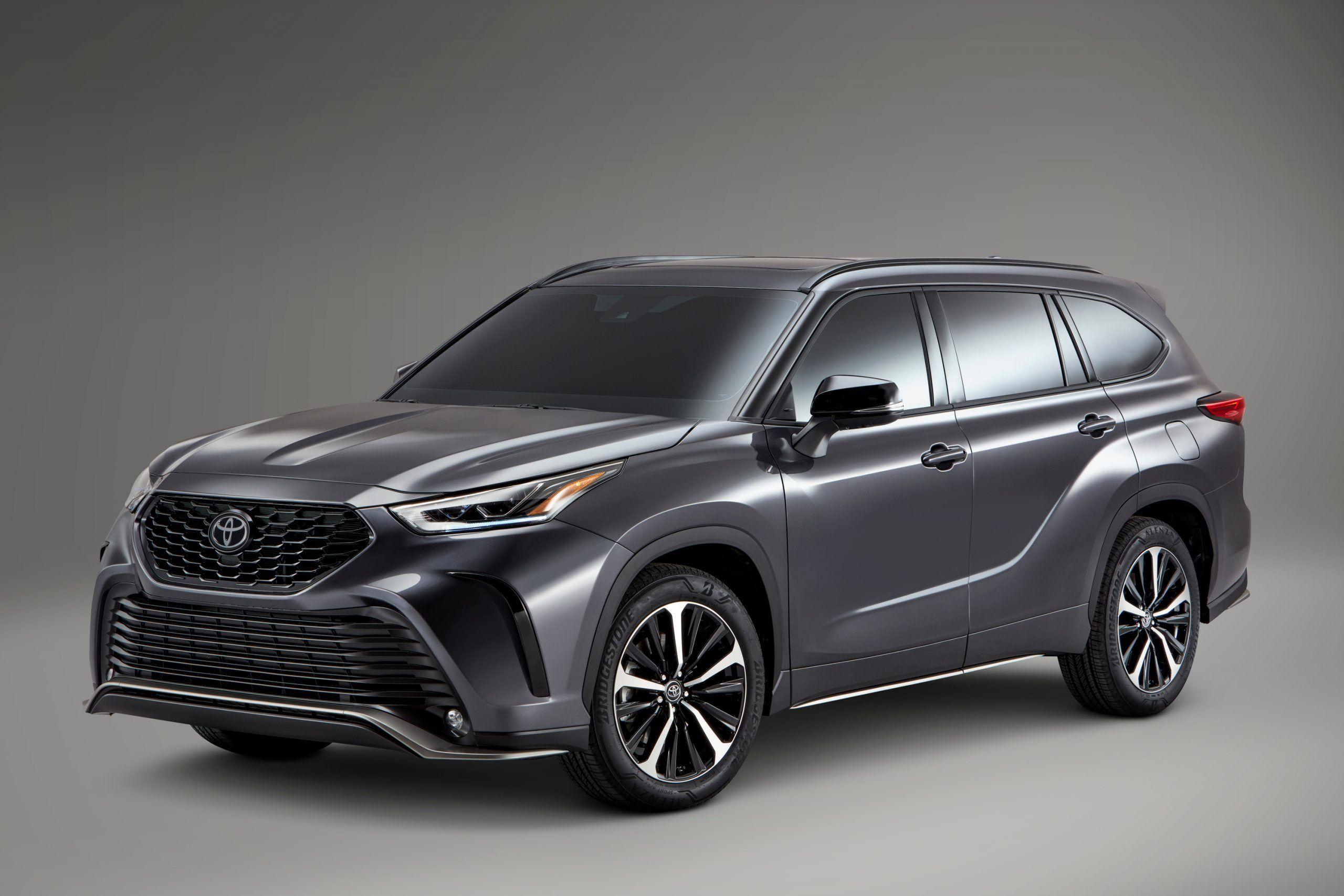 2021 Toyota Highlander Xse In 2020 Toyota Highlander New Suv Toyota