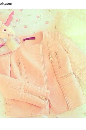 jacket pink style fashion kawaii leather leather jacket