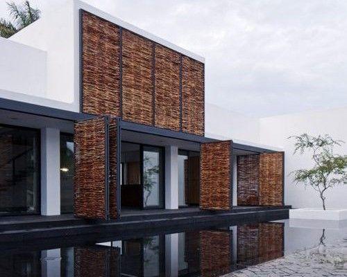 Habillage des murs extérieur de lu0027ossature acier Maison ossature - plan maison structure metallique