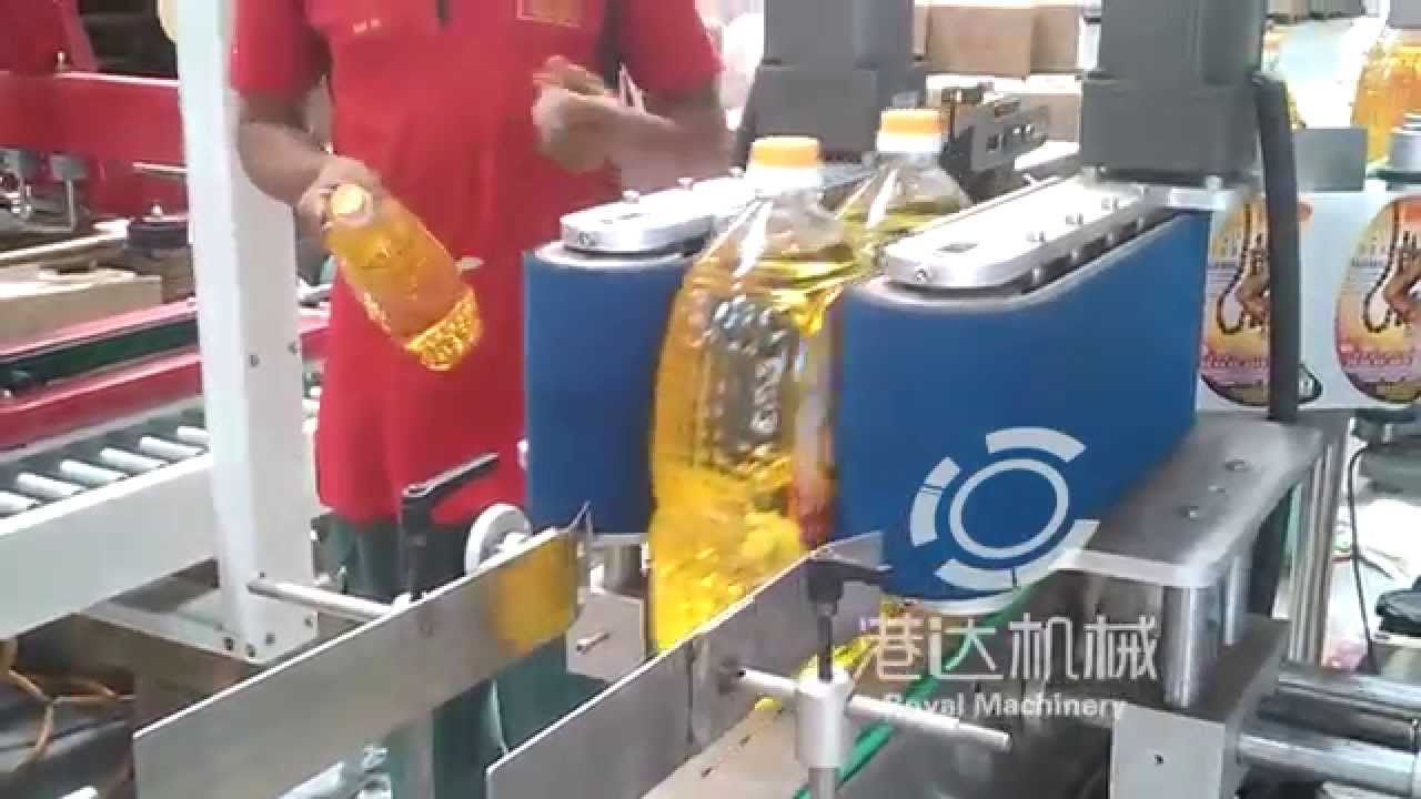 Malaysia Factory Oil Bottle Sticker Labeling Machine Labeller