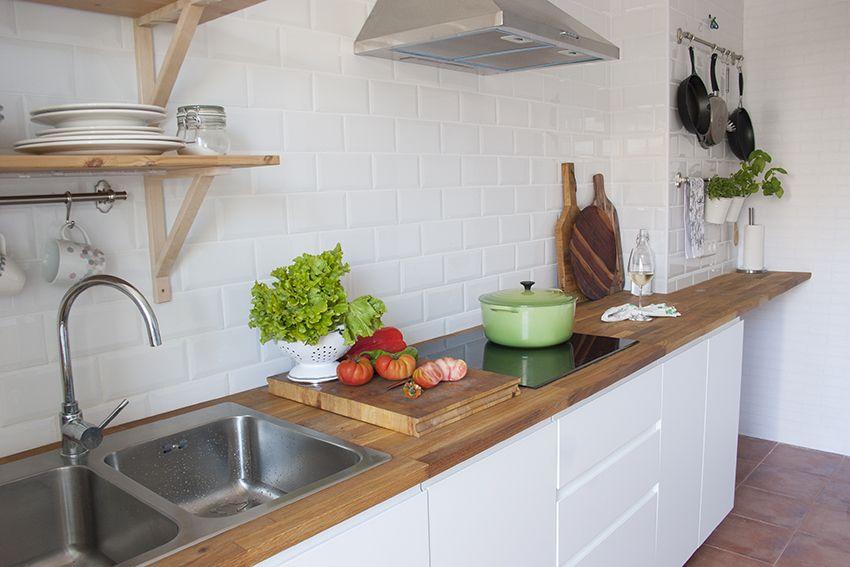 Una cocina low cost y perfecta | decoracion | Muebles cocina baratos ...