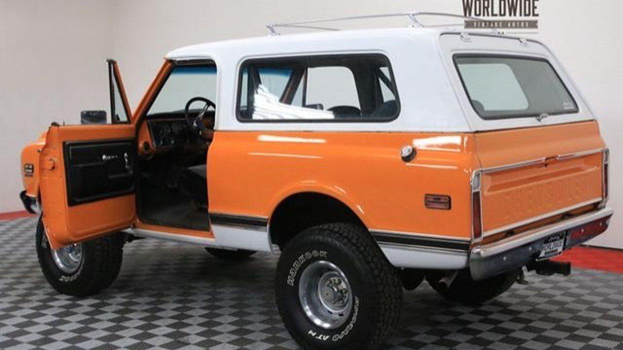 1972 Chevrolet Blazer for sale near Denver, Colorado 80205 ...