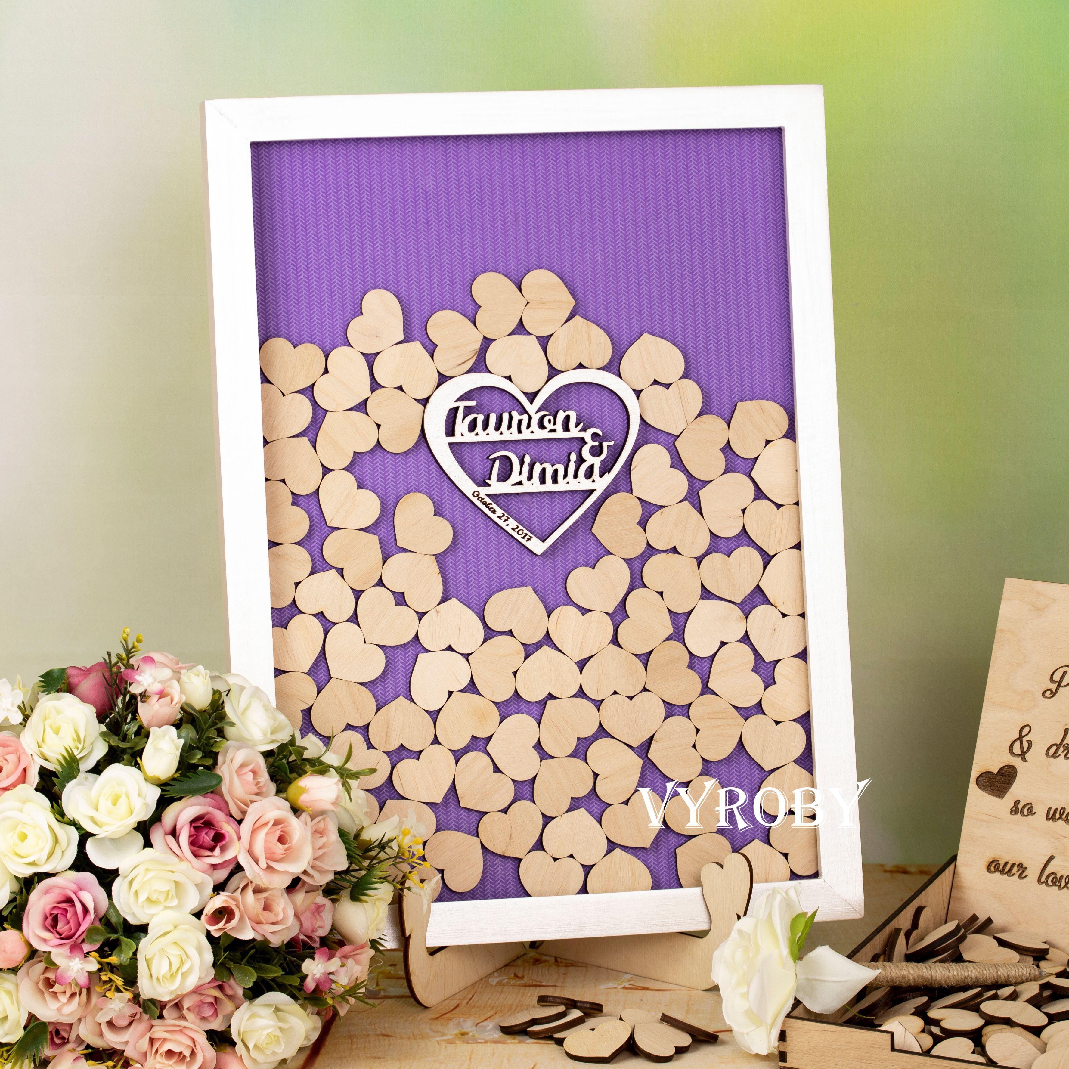 Wedding Guest Sign In Ideas: Drop Box Guest Book Wedding Alternative Cassis Wedding