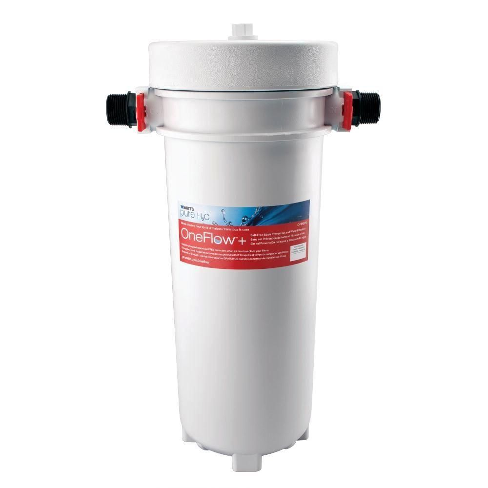 Watts Oneflow Scale Prevention And Water Filtration System Ofpsys The Home Depot In 2020 Water Filtration System Water Filtration Water Purification System