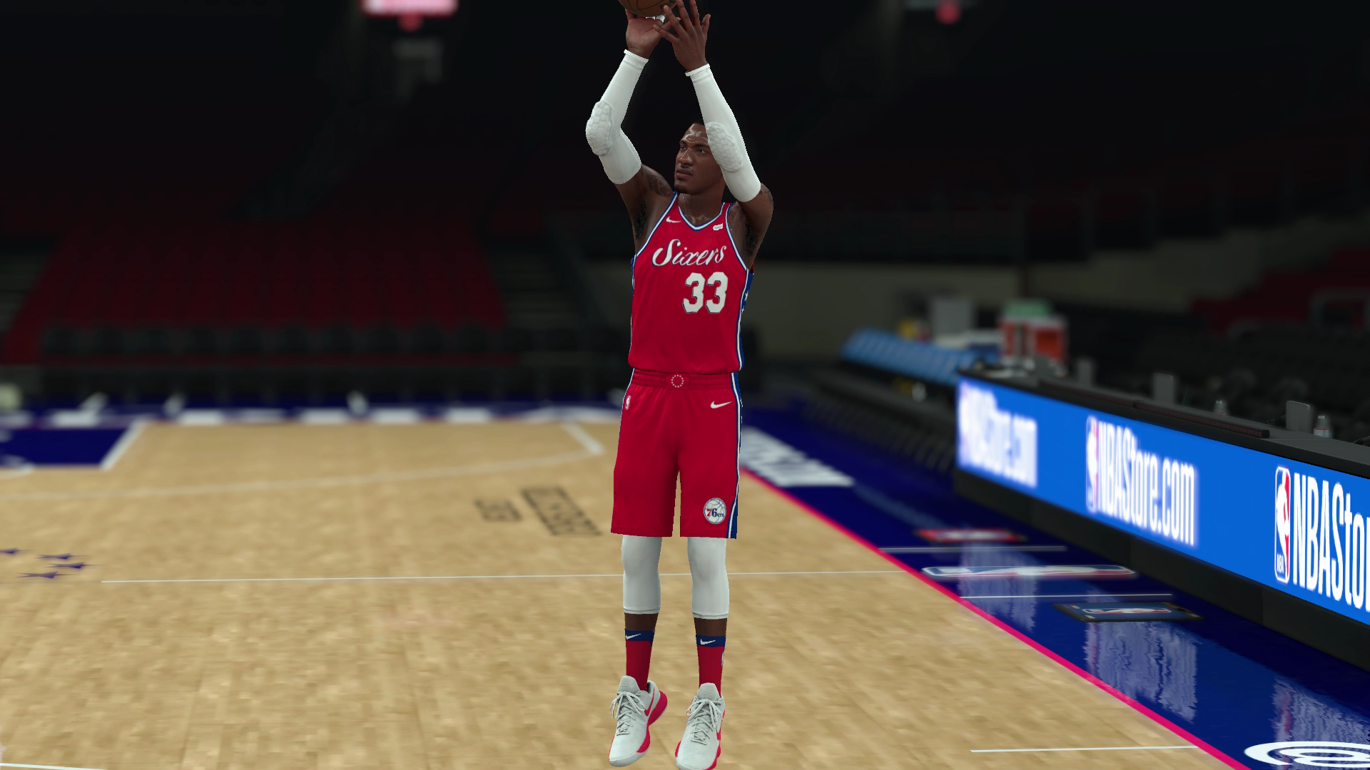 "Robert Covington • ""Shooter"" Basketball court, Nba"
