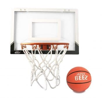 Japer Bees Mini Pro Basketball Hoop In 2020 Indoor Basketball Hoop Indoor Basketball Basketball